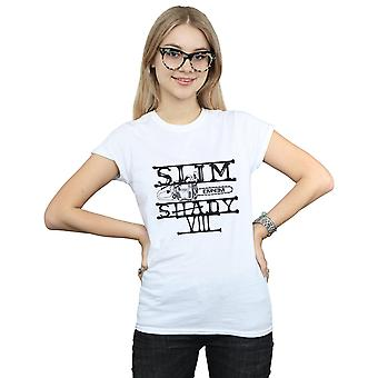 Eminem vrouwen Slim Shady Chainsaw T-Shirt