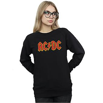 AC/DC Women's Red Logo Sweatshirt