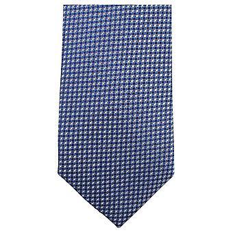 Knightsbridge Neckwear Small Cross Tie - Blue