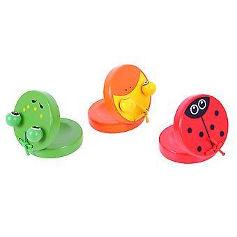 Bigjigs speelgoed dierlijke castagnetten (een paar)