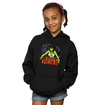 Marvel Universe meisjes de Savage She-Hulk Hoodie