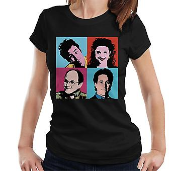 T-Shirt de Seinfeld Pop Art féminin