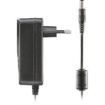 De adapter van de macht van de DELTACO, 100-240V AC 50/60 Hz tot 12V DC, 2A, 1, 5 m