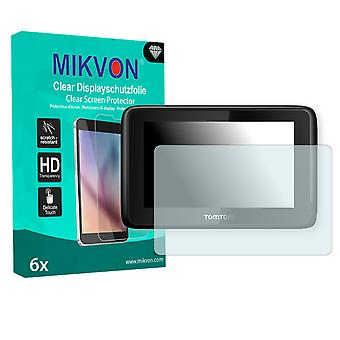 TomTom PRO 5150 TRUCK LIVE Screen Protector - Mikvon Clear (Retail Package with accessories)