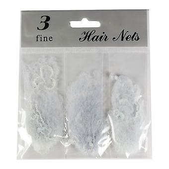 Molly & Rose Fine Hair Net 9pk Grey