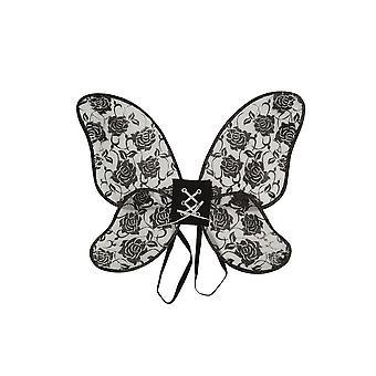 Rose Wing Black/Glitter