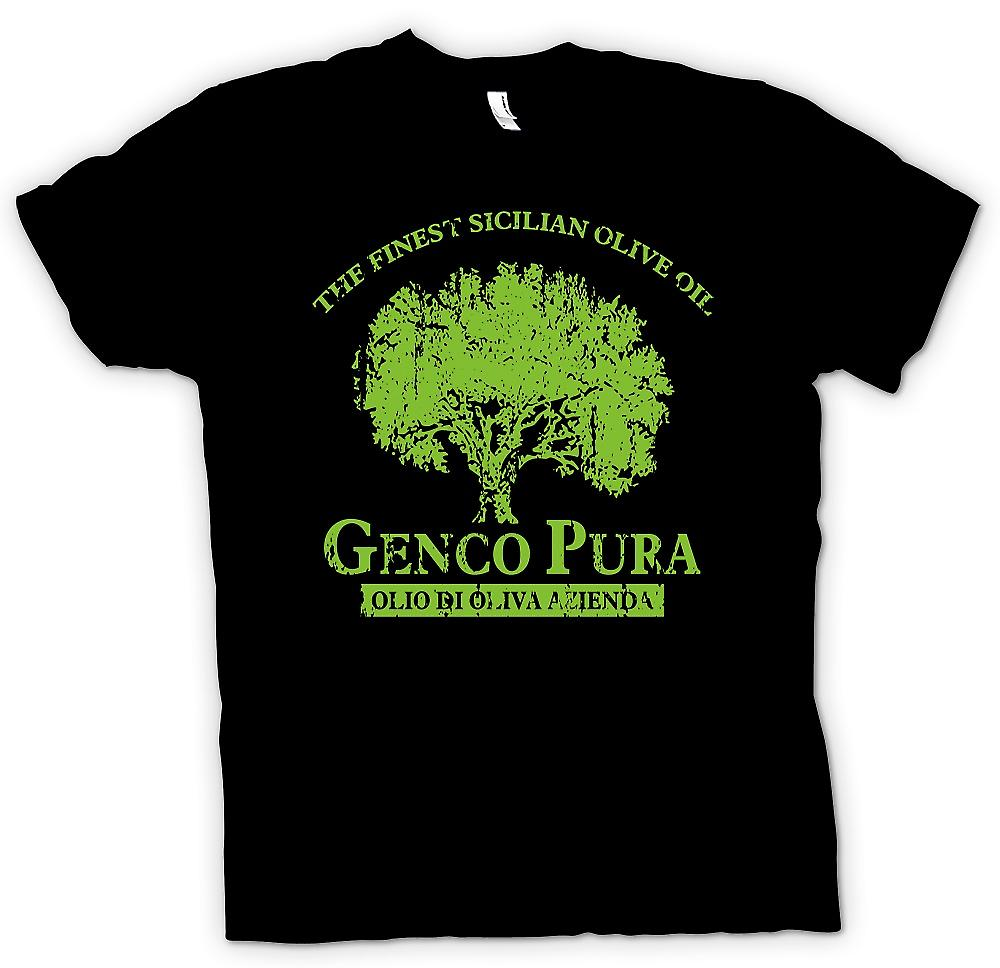 Mens T-shirt - Genco Pura - Don Corleone Company - Godfather Inspired