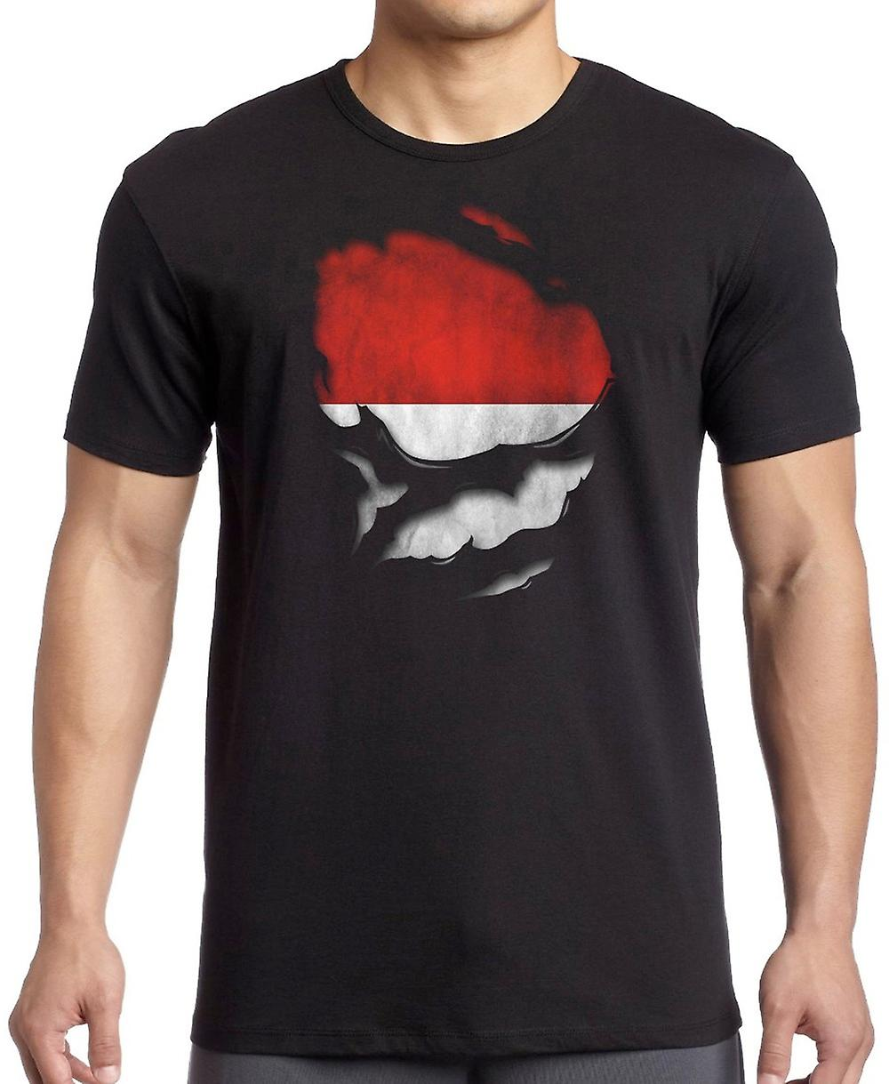 Croatia Croatian Ripped Effect Under Shirt T Shirt