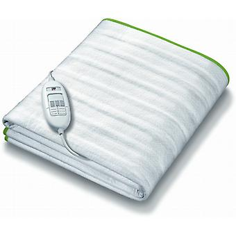 Monogram Ecologic Electric Heated Mattress Cover By Beurer | Tie Down; 3 Heat Settings | Single