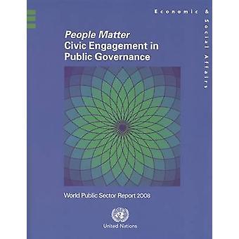 Gens importent - participation des citoyens à la gestion des affaires publiques - monde Public S