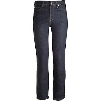 Bull-It Navy Cafe SR6 Straight - Long Motorcycle Jeans