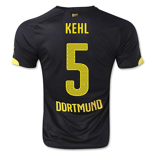 2014-15 Borussia Dortmund Away Shirt (Kehl 5) - Kids