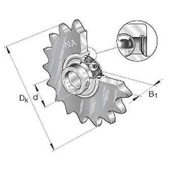 INA KSR20-B0-16-10-10-15 Roller Chain Idler Sprocket Unit