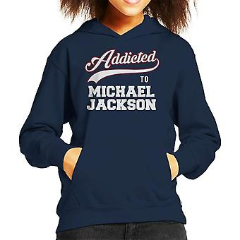 Addicted To Michael Jackson Kid's Hooded Sweatshirt