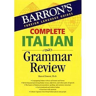 Afhandeling van Italiaanse grammatica herziening (Barron's vreemde taalgidsen)