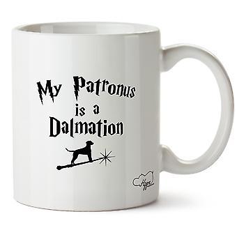 Hippowarehouse My Patronus Is A Dalmation Printed Mug Cup Ceramic 10oz
