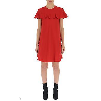 Red Valentino Red Satin Dress