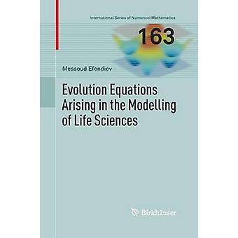 Ecuaciones de evolución que se presenta en el modelado de Ciencias de la vida por Efendiev & Messoud