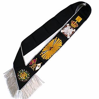 Masonic Rose Croix Sash - AASR - 32nd degree