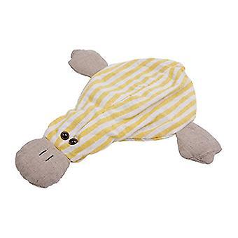 Childrens Stripey Heatable Cherry Pit Pillow: Duck