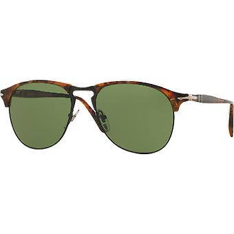 Persol 8649S wide Celebration Caffè green Vintage