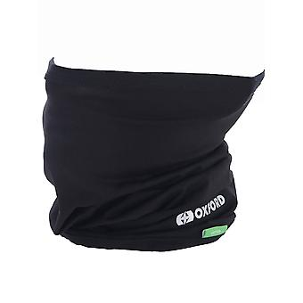 Oxford Black Cotton Motorcycle Neck Warmer