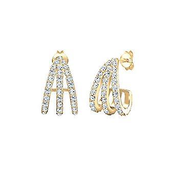 Elli Silver Women's Pin Earrings 301461518