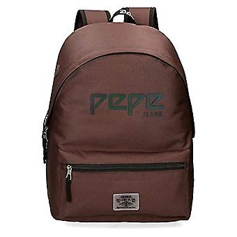 Pepe Jeans Osset Backpack 42 Centimeters 22.79 Brown (Marr n)