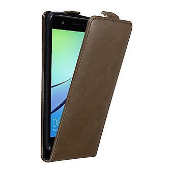 Cadorabo sag Cover til Huawei NOVA sag Cover-telefon tilfældet i flip design med magnetisk lås-sag Cover sag case sag bog folde stil