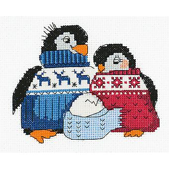 Friendly Family Counted Cross Stitch Kit-6.25