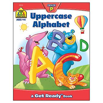 Preschool Workbooks 32 Pages Uppercase Alphabet Szpresch 02065