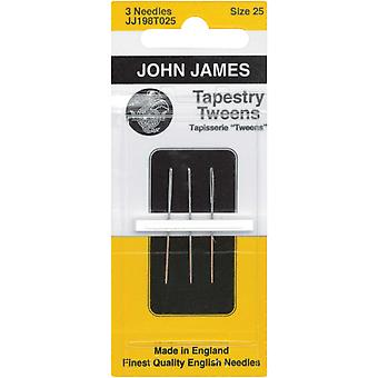 Tapestry Tweens Hand Needles Size 25 3 Pkg Jj198t 25