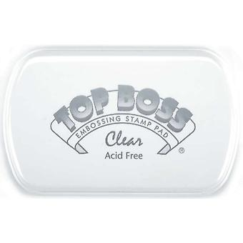 Top Boss Embossing Pad Clear 100000 10500