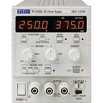 Bench PSU (adjustable voltage) Aim TTi PLH250 0 - 250 V 0 - 0.375 A 94 W No. of outputs 1 x