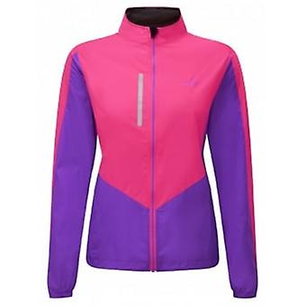 Windlite Jacket Fluo Pink/Lilac Womens