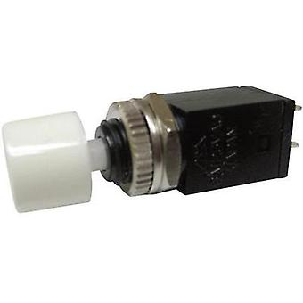 Pushbutton 125 Vac 3 A 1 x Off/(On) Miyama DS-410, WT momentary 1 pc(s)