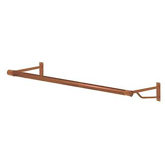 4ft Metallic Copper Finish Wall Mounted Rail from Caraselle -Brand New