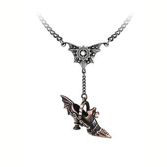 Alchemy Spring Heeled Jill Necklace With Pendant