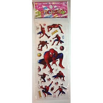 One Sheet of Puffy Stickers | SPIDERMAN | Ideal for Scrapbooks Party Bags and general fun