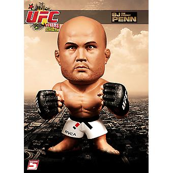 Ronde 5 UFC Titans Golf 1 Action Figure - BJ Penn