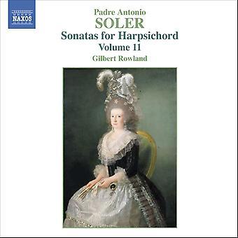 A. Soler - Soler: Sonaten für Cembalo, Band II [CD] USA import