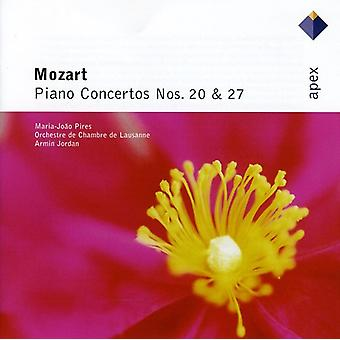 W.a. Mozart - Mozart: Piano Concertos Nos. 20 & 27 [CD] USA import