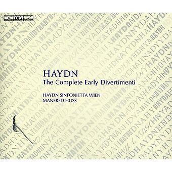 FJ Haydn - Haydn: The komplett tidiga Divertimenti [CD] USA import
