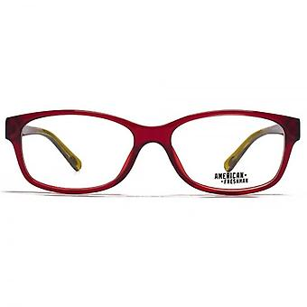 American Freshman Marissa Preppy Glasses In Crystal Red