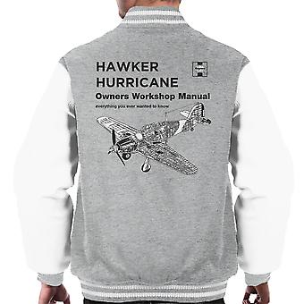 Haynes Besitzer Workshop manuelle Hawker Hurricane VW Varsity Jacke Herren
