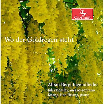 Berg / Bentley / Huang - Jugenlieder [CD] USA import