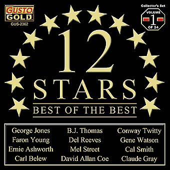Twelve Stars - Best of the Best Vol. 1 [CD] USA import