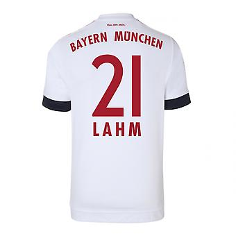 2015-16 Bayern Munich Away Shirt (Lahm 21)