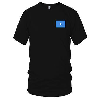 Somalia Land Nationalflagge - Stickerei Logo - 100 % Baumwolle T-Shirt Kinder T Shirt