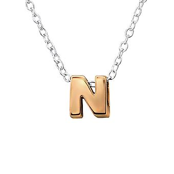 N - 925 Sterling Silver Plain Necklaces